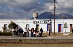 SEFT-1 en la estación de Esperanza
