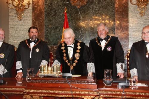 Apertura año judicial 20111