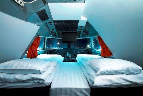 Jumbo con camas