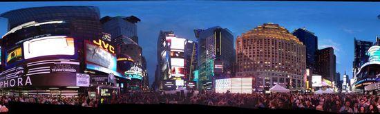 La ceremonia de Art Takes Times Square el pasado lunes en Nueva York