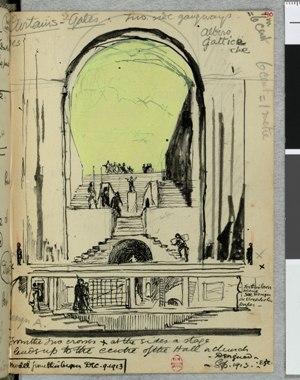 Boceto del Arena Goldoni