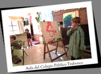 Aula del Colegio 'Trabenco' de Leganés
