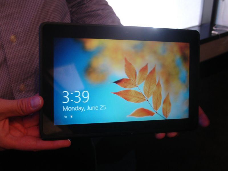 Intel tablet con Windows 8