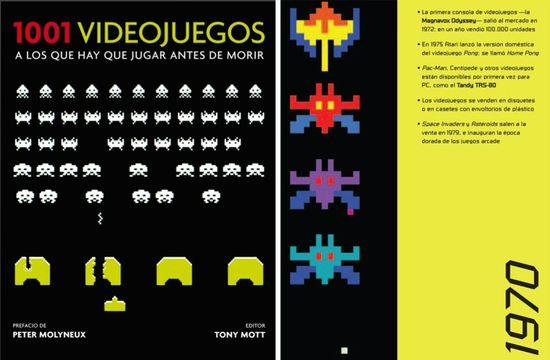1001 videojuegos a los que hay que jugar antes de morir