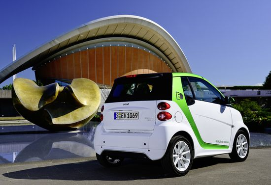 Smart Fortwo ED 2012 trasera