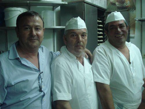 Alberto Forteza, Tomás García y Francisco Sierra