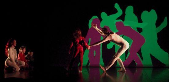 Floraisons et Sortilèges un espectáculo de danza multimedia del colectivo francés Mobilis Immobilis
