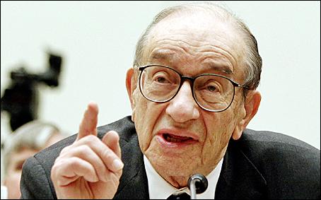Alan Greenspan, anterior presidente de la Reserva Federal.