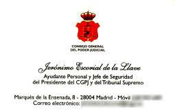 Tarjeta Jerónimo Escorial