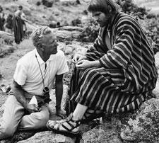 Nicholas Ray y Rip Torn