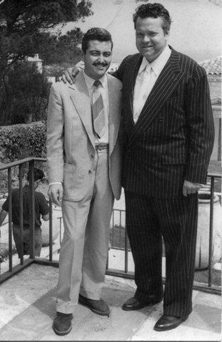 Welles y Perico Vidal - archivo Alana Vidal
