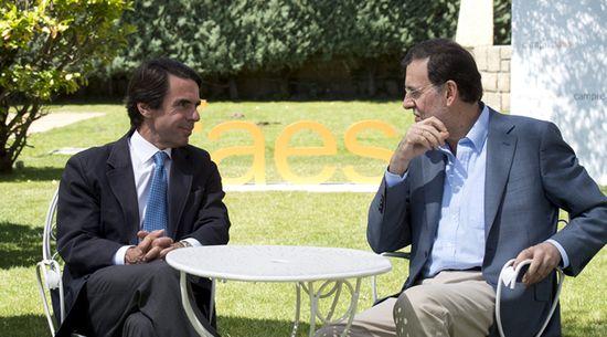 Rajoy-Aznar-campus-Faes