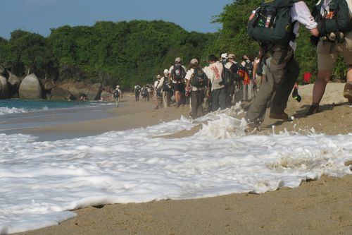 626_JUN_30_Marcha Parque Tayrona - Playa