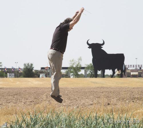 Saltando con el toro 1