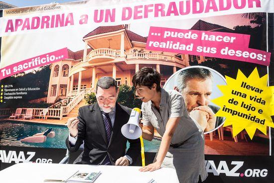 Performance Nebot Rajoy
