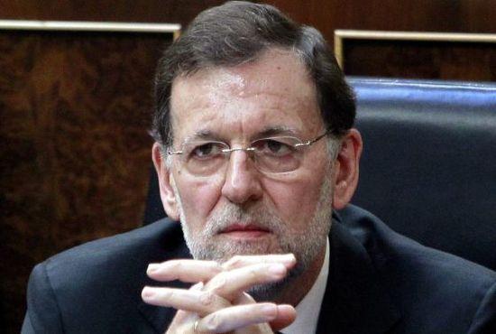 El presidente del Gobierno, Mariano Rajoy, retratado por Manuel H. de León