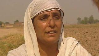 Alá Raji, durante la entrevista realizada con la BBC, tras la reconstrucción de su nariz.