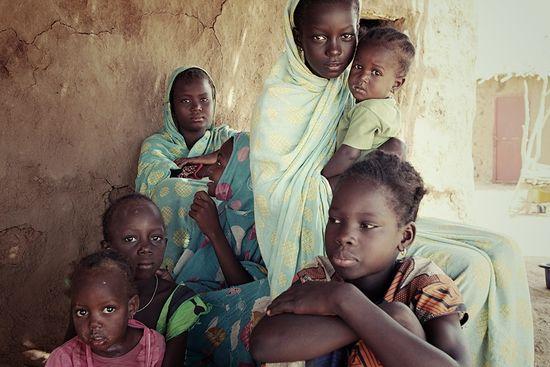 NIñas mauritanas Foto_Oscar Naranjo Galvan