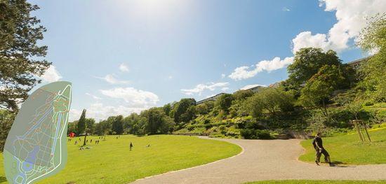 El parque de Karlsaue en Kassel