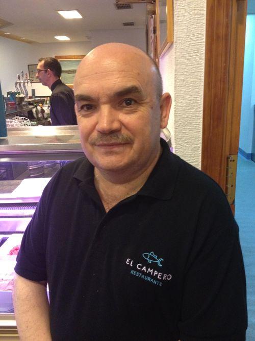 José Melero, propietario de El Campero