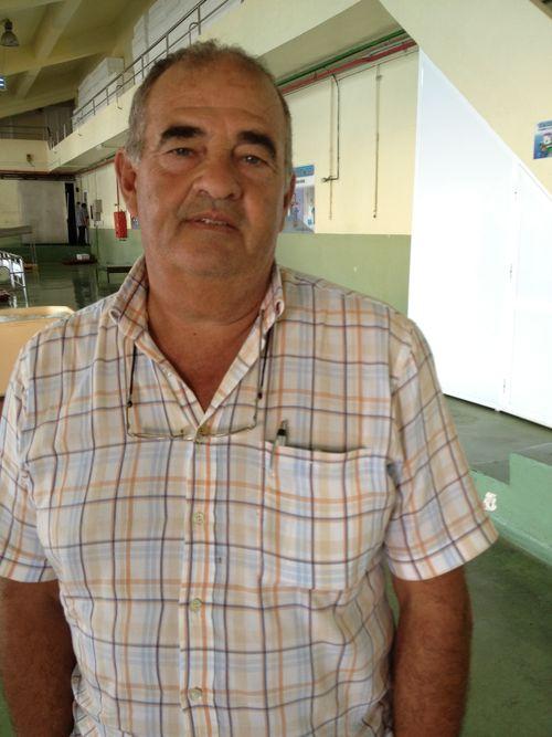 Fernando Rodríguez, vendedor jefe de la lonja de Tarifa