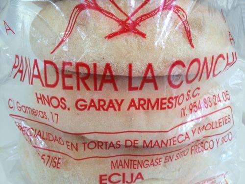 Bolsa de molletes de La Conchi, en Écija