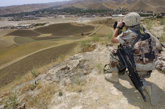 Un militar español, en misión en Afganistán. / Ministerio de Defensa