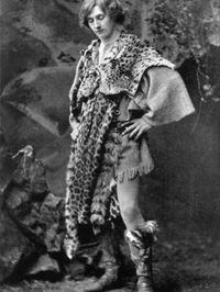 Gordon Craig en Cymbeline, de Shakespeare