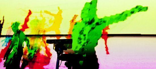 Me and my shadow y la tecnología Kinect - Foto © JP Berthoin