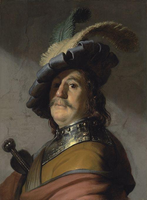 Rembrandt Harmensz van Rijn. Hombre con gola. Se subastará el 3 de julio en la sala londinense de Christie's. Estimado: 8.000.000- 12.00.000 de libras. Foto: cortesía de Chirstie's