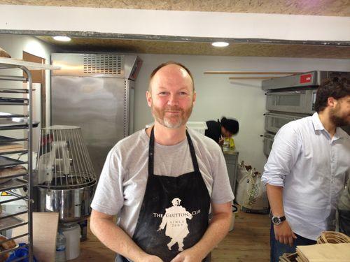 El panadero Dan Lepard