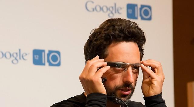 Sergey Brin y las gafas de Google