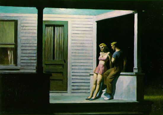 Hopper.summer-evening