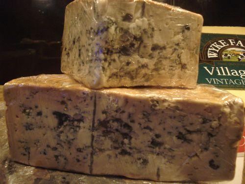 Surtido de quesos azules