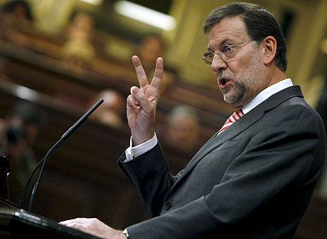 Rajoy tijeras