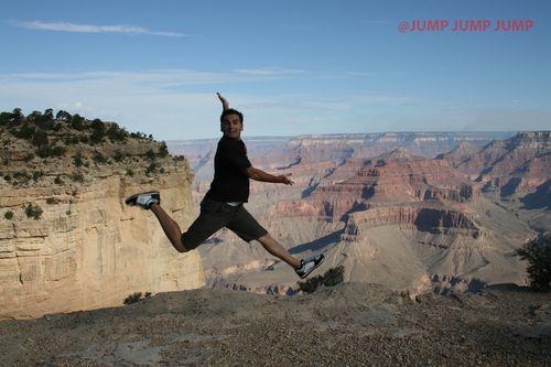 Jumping en Cañón Colorado