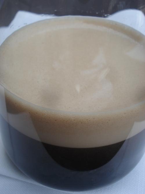 Falsa cerveza negra con retrogusto a espresso