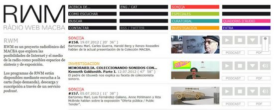 RWM Radio Web Macba