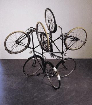 Gabriel orozco-bicicletas.siempre hay una dirección