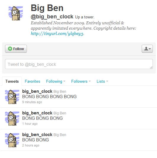 Bigben twitter