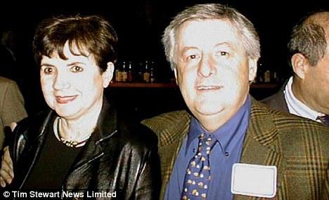 Frampton y ex esposa