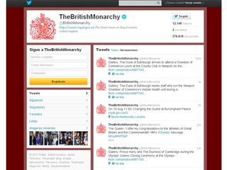 Twitter british monarchy
