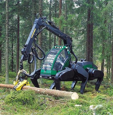 Tractor andante finlandés