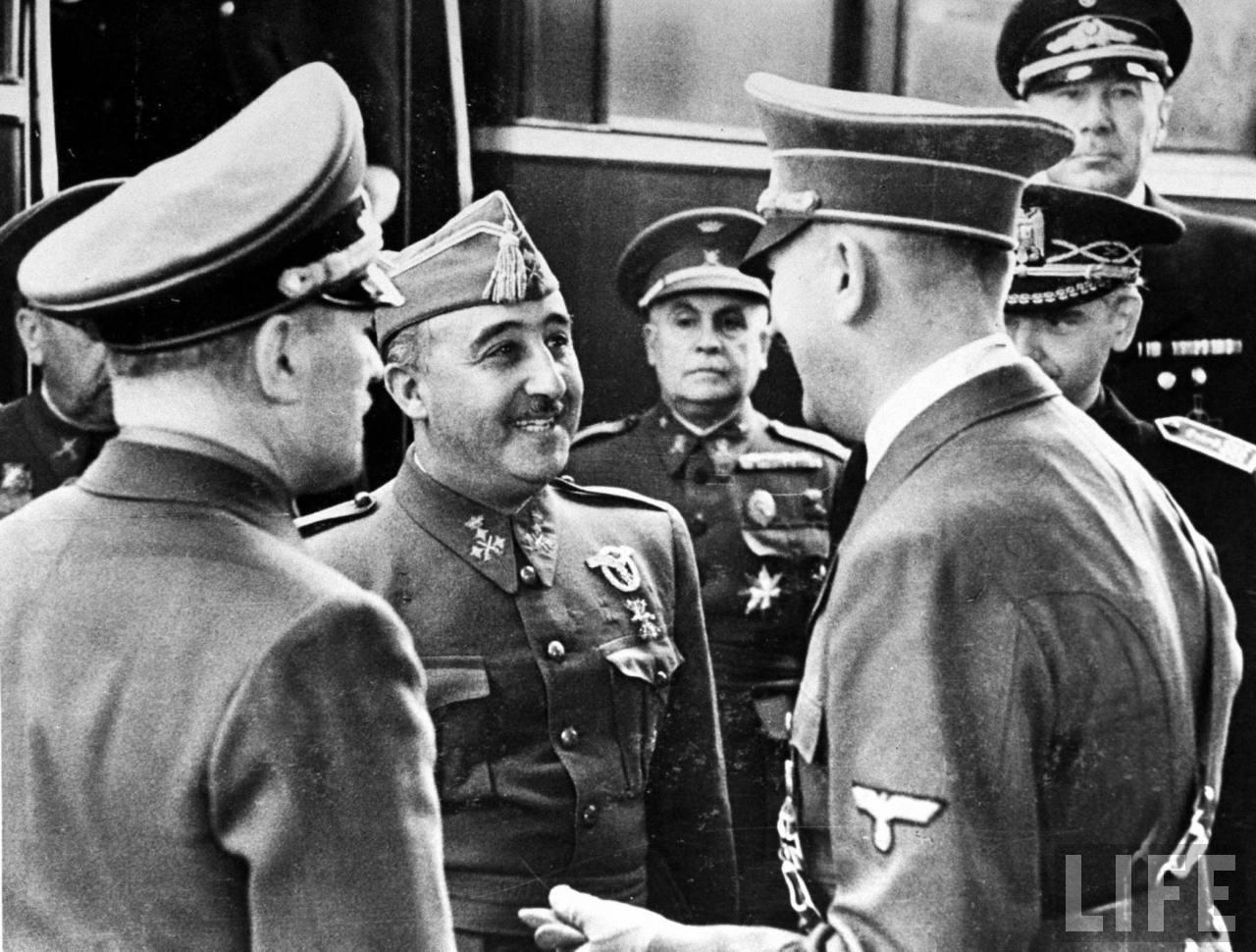 Franco y Hitler