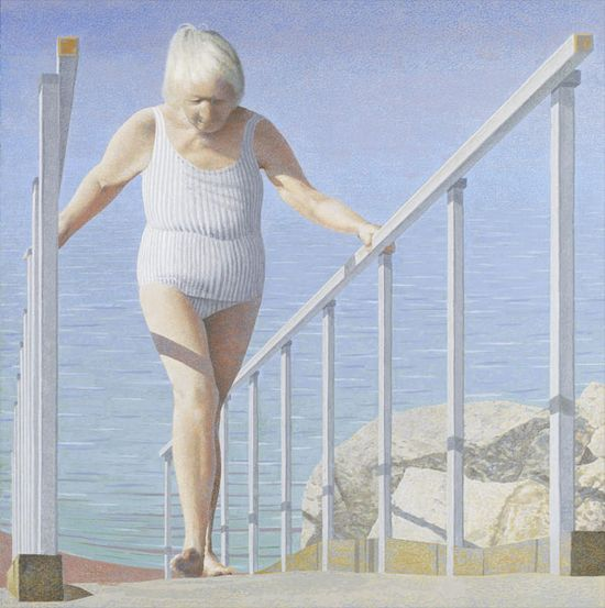 Alex_colville_2007_woman_on_ramp