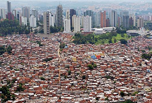 Favela en Sao Paulo