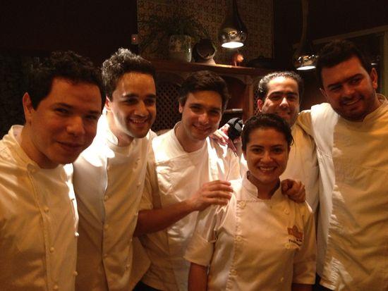 Jóvenes cocineros de Belo Horizonte, un futuro prometedor