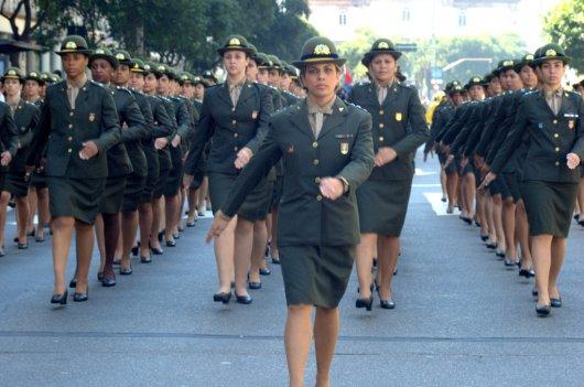 Mujeres brasileñas en el Ejército