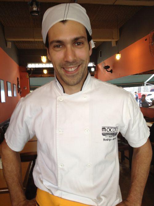 El cocinero Rodrigo Oliveira, patrón de Mocotó, veterana casa de comidas de origen familiar