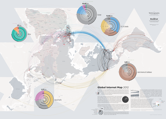 Global internet map 2012